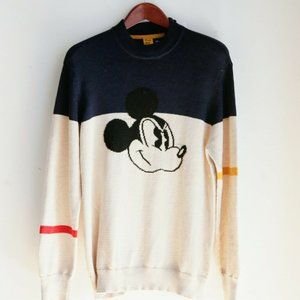 Frank and Oak X Disney Mickey Mouse pullover